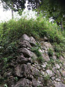 安土城石垣