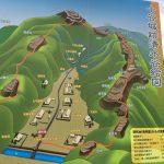 日本100名城小谷城は浅井長政とお市と茶々・初・江が住んだ山城!
